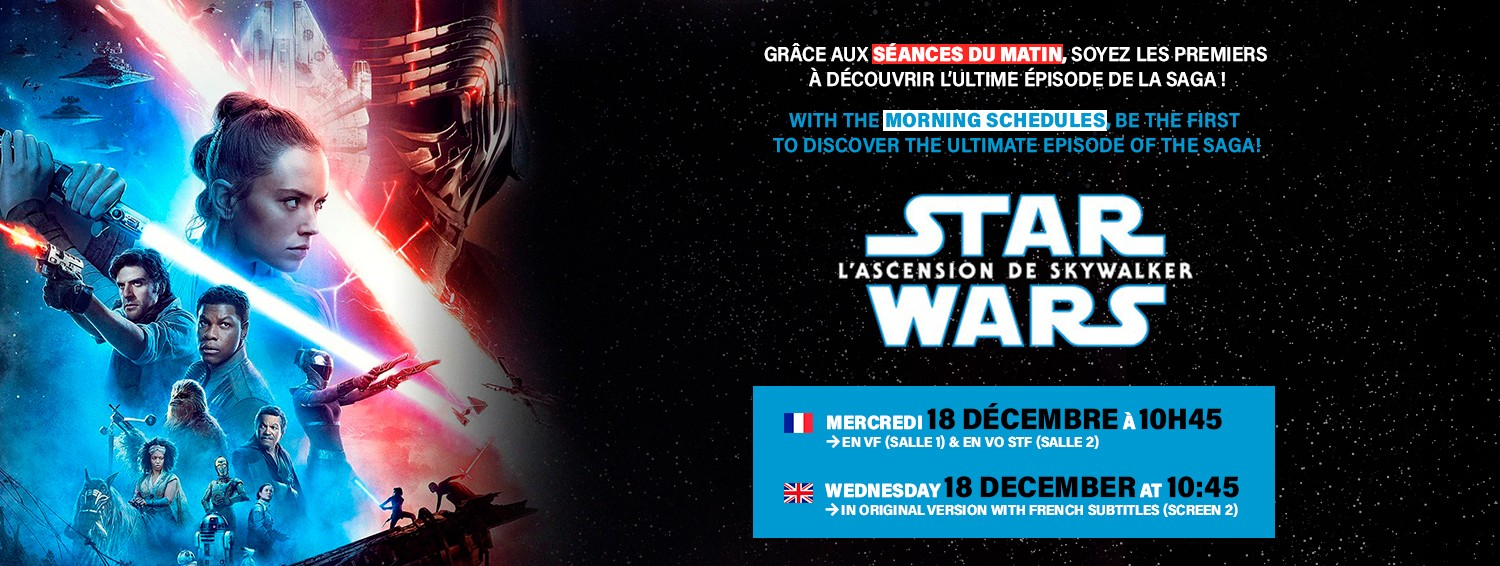 Star Wars - Seance Matin 18 dec.